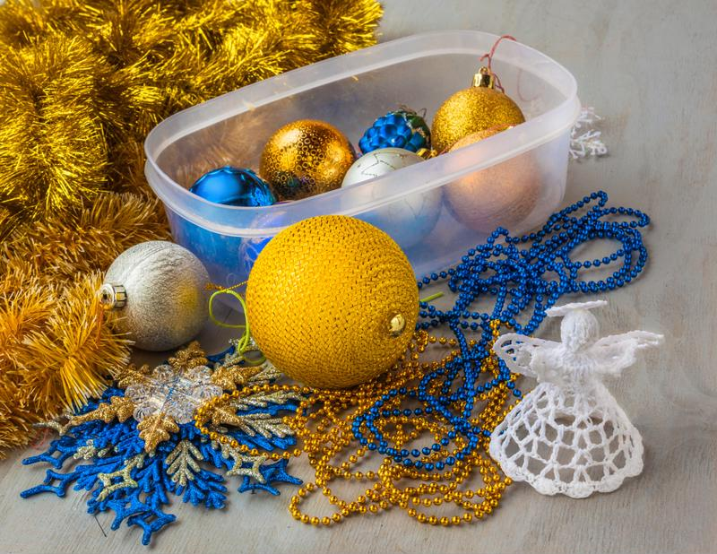Little pieces from holiday decorations can become choking hazards for small children.
