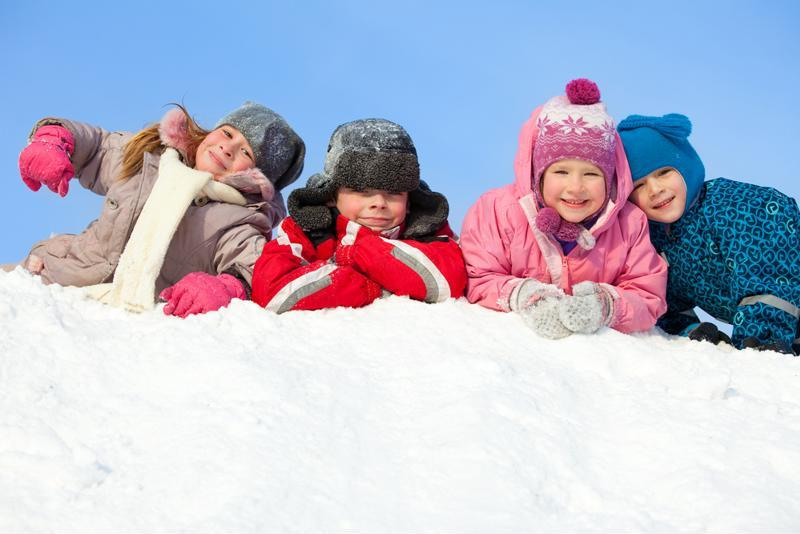 Though a time for fun, children must also play it safe during winter break.